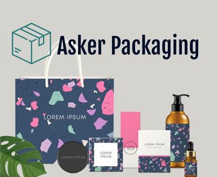 Asker Packaging - Website Design - Forte Digital Logic 1
