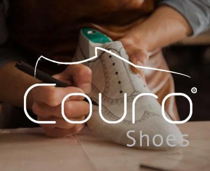Couro Shoes - Website Design - Forte Digital Logic 1